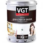 Краска VGT PREMIUM для стен и обоев IQ 123, база А