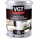 Краска VGT PREMIUM для кухни и ванной комнаты IQ130